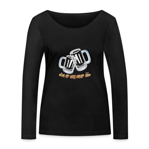 Doe er nog maar een Shirt png - Vrouwen bio shirt met lange mouwen van Stanley & Stella