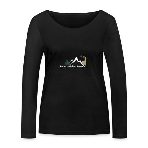 i-sierradelasnieves.com - Camiseta de manga larga ecológica mujer de Stanley & Stella