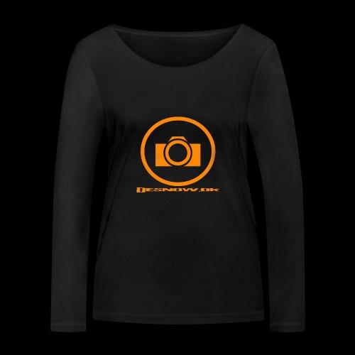 Orange 2 png - Økologisk Stanley & Stella langærmet T-shirt til damer