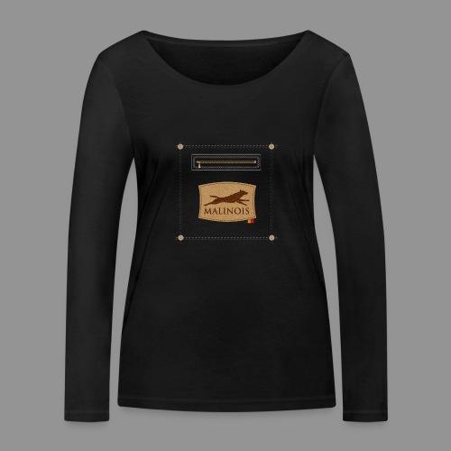Belgian shepherd Malinois - Women's Organic Longsleeve Shirt by Stanley & Stella