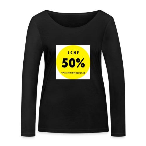 knapp 50 3 - Ekologisk långärmad T-shirt dam från Stanley & Stella