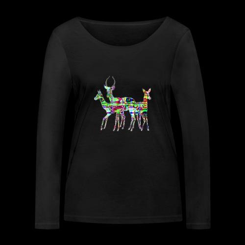 Biches - T-shirt manches longues bio Stanley & Stella Femme