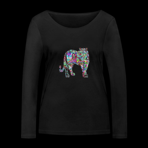 Tigre - T-shirt manches longues bio Stanley & Stella Femme