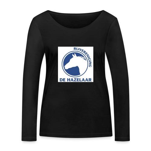 LgHazelaarPantoneReflexBl - Vrouwen bio shirt met lange mouwen van Stanley & Stella