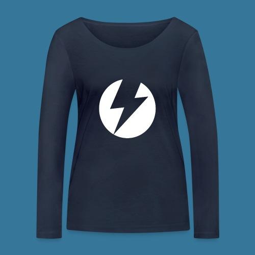 BlueSparks - White - Women's Organic Longsleeve Shirt by Stanley & Stella