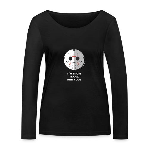 Jason Texas Chainsaw - Halloween Flirt Monster - Frauen Bio-Langarmshirt von Stanley & Stella