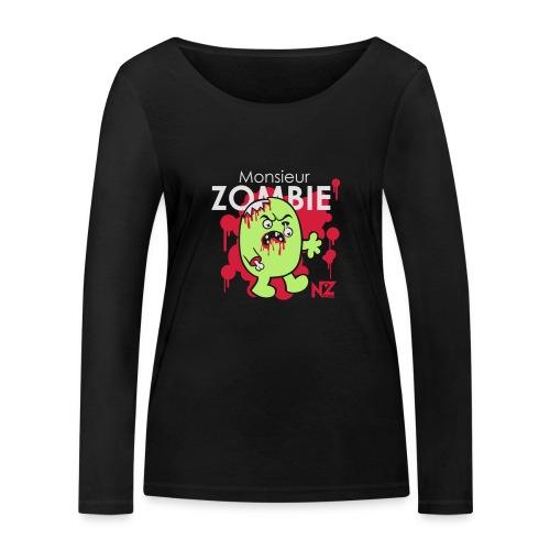 mr zombie - T-shirt manches longues bio Stanley & Stella Femme