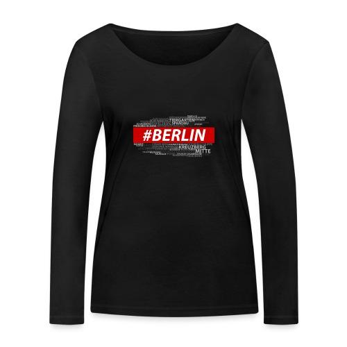 Hashtag Berlin - Frauen Bio-Langarmshirt von Stanley & Stella