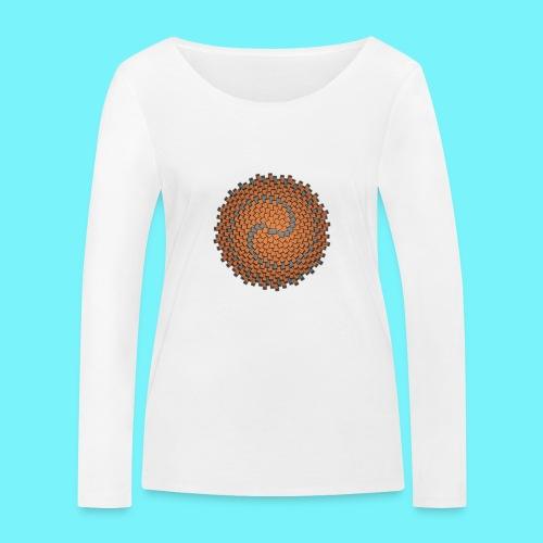 Wallflower - Women's Organic Longsleeve Shirt by Stanley & Stella