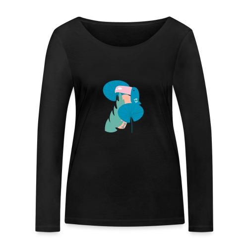 Modern toucan - Maglietta a manica lunga ecologica da donna di Stanley & Stella
