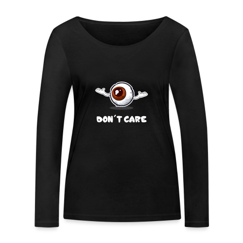 EYE don't care - T-shirt manches longues bio Stanley & Stella Femme