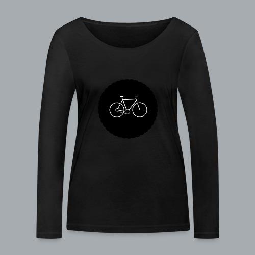 Bike Circle Vector - Frauen Bio-Langarmshirt von Stanley & Stella