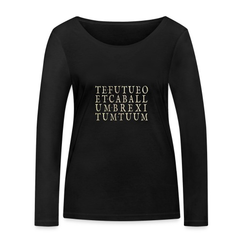 TE•FUTUEO - Women's Organic Longsleeve Shirt by Stanley & Stella