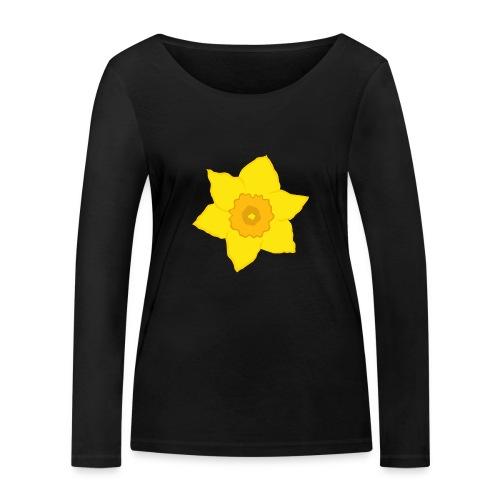 Osterglocke - Frauen Bio-Langarmshirt von Stanley & Stella