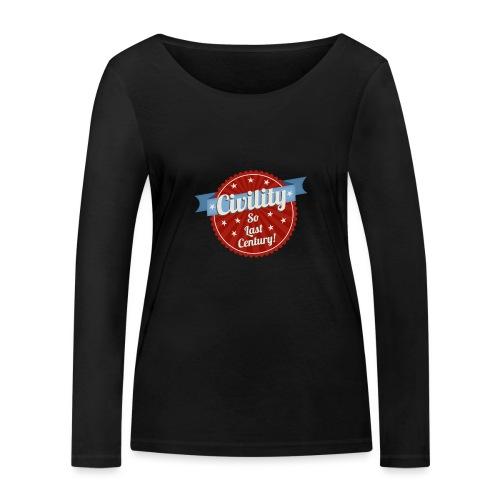 Civility - Women's Organic Longsleeve Shirt by Stanley & Stella