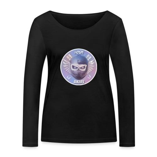 hospibikers metal - Camiseta de manga larga ecológica mujer de Stanley & Stella