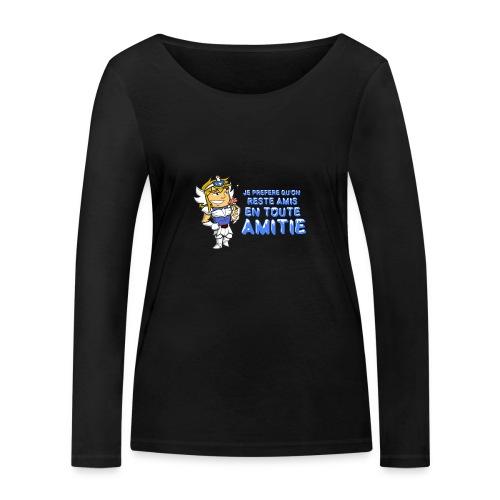 Hyôga - En toute Amitié - T-shirt manches longues bio Stanley & Stella Femme