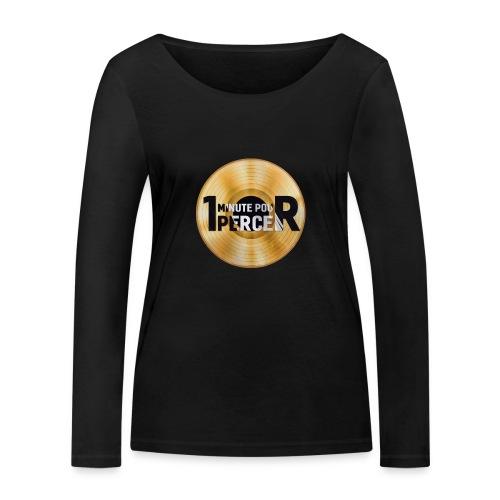 1 MINUTE POUR PERCER OFFICIEL - T-shirt manches longues bio Stanley & Stella Femme
