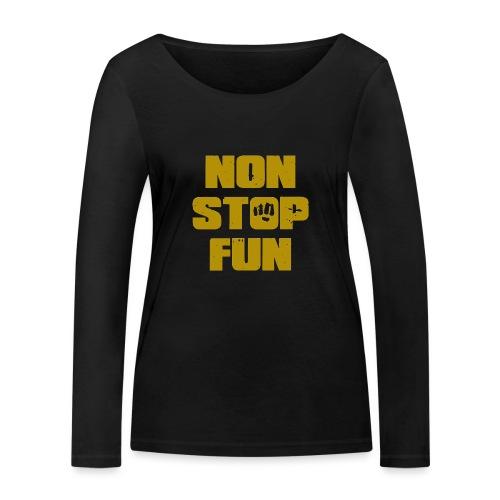 Non Stop Fun - Frauen Bio-Langarmshirt von Stanley & Stella