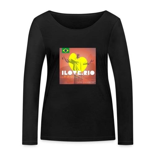 I LOVE RIO RADIO - Women's Organic Longsleeve Shirt by Stanley & Stella