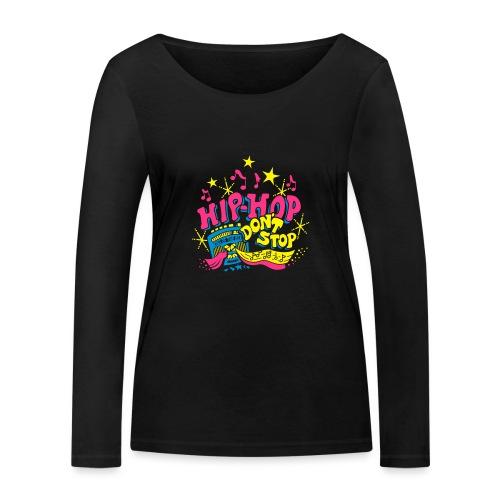 hiphop_style - Frauen Bio-Langarmshirt von Stanley & Stella