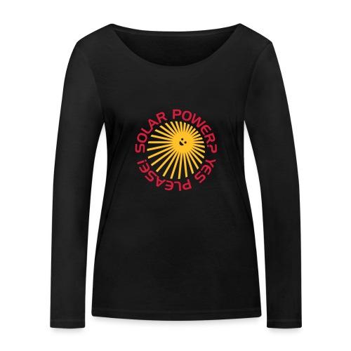 BD Solar Power - Frauen Bio-Langarmshirt von Stanley & Stella
