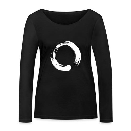 Enso Zen Symbol Buddhismus Kalligrafie Yoga Kreis - Frauen Bio-Langarmshirt von Stanley & Stella