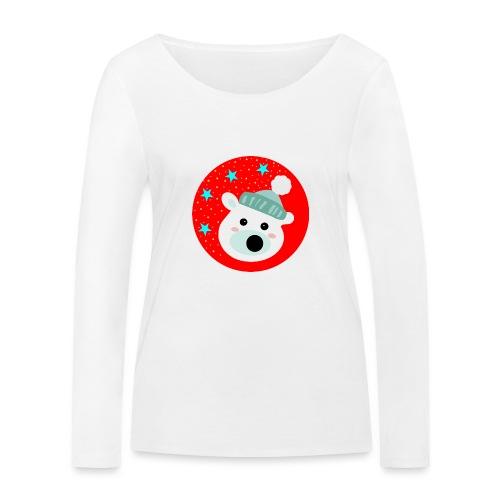 Winter bear - Women's Organic Longsleeve Shirt by Stanley & Stella