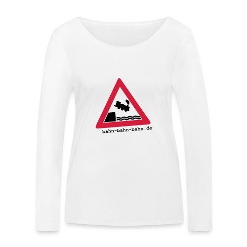 Schienenende - Frauen Bio-Langarmshirt von Stanley & Stella