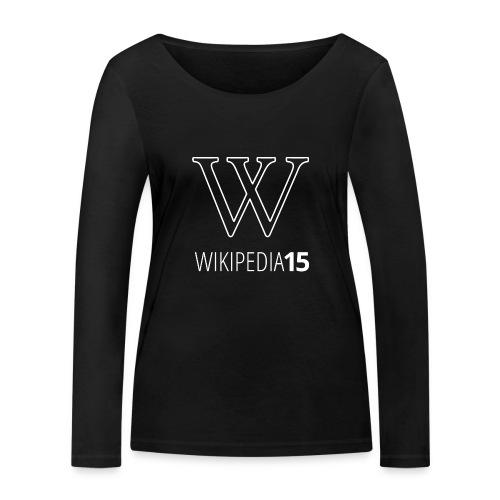 W, rak, svart - Ekologisk långärmad T-shirt dam från Stanley & Stella