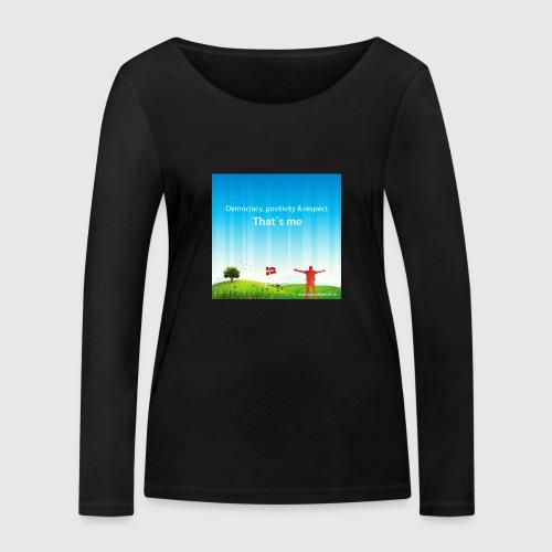 Rolling hills tshirt - Økologisk Stanley & Stella langærmet T-shirt til damer
