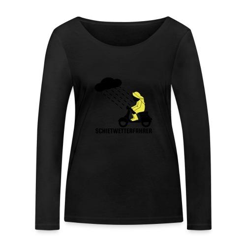 Schietwetterfahrer - Frauen Bio-Langarmshirt von Stanley & Stella