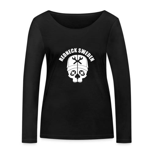 Redneck sweden logo - Ekologisk långärmad T-shirt dam från Stanley & Stella