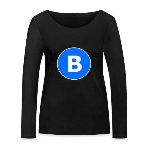 BluePrison - Økologisk Stanley & Stella langærmet T-shirt til damer