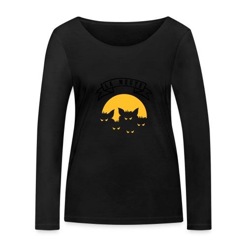 la meute - T-shirt manches longues bio Stanley & Stella Femme
