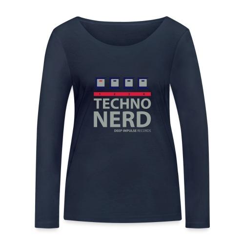 Techno Nerd - Women's Organic Longsleeve Shirt by Stanley & Stella