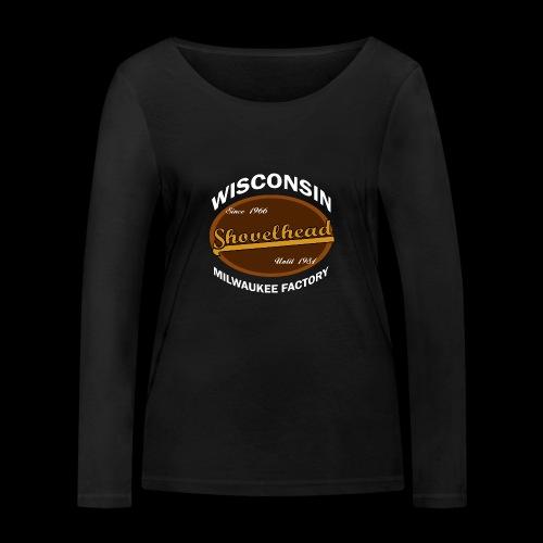 Milwaukee Shovelhead - Frauen Bio-Langarmshirt von Stanley & Stella