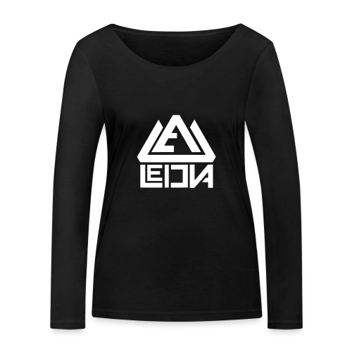 LEDUNA WHITE LOGO - Ekologisk långärmad T-shirt dam från Stanley & Stella