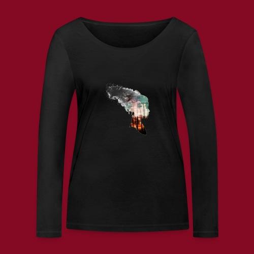 -Trasformation- - Maglietta a manica lunga ecologica da donna di Stanley & Stella