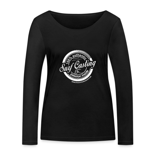 SURF CASTING - Maglietta a manica lunga ecologica da donna di Stanley & Stella