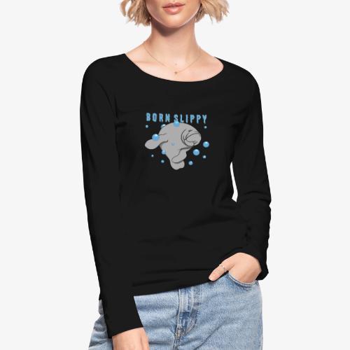 Born Slippy - Ekologisk långärmad T-shirt dam från Stanley & Stella