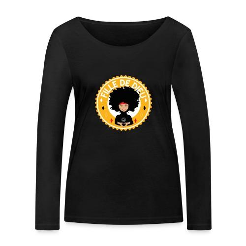 fillededieujaune - T-shirt manches longues bio Stanley & Stella Femme