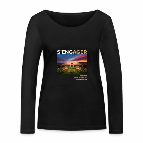 1 Achat = 1 Don à l'association Coeur de forêt - T-shirt manches longues bio Stanley & Stella Femme