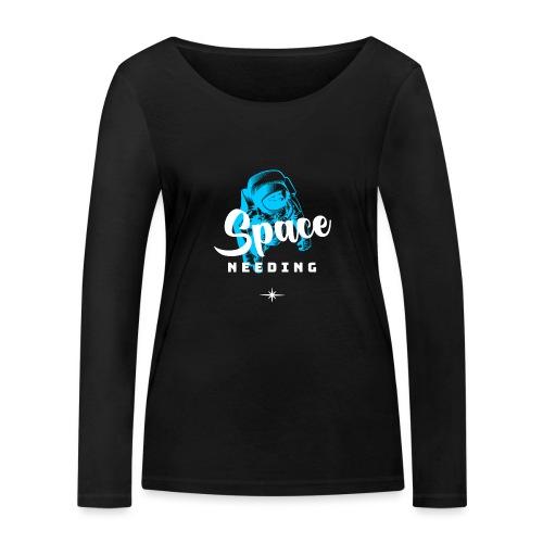 Space needing - Frauen Bio-Langarmshirt von Stanley & Stella