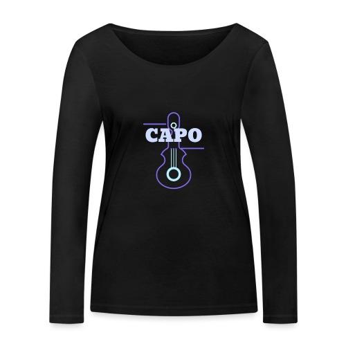 Guitar Capo - Frauen Bio-Langarmshirt von Stanley & Stella