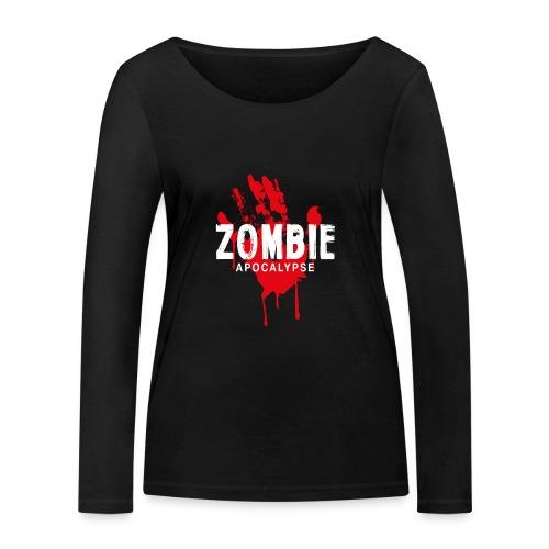 Zombie Apocalypse - Ekologisk långärmad T-shirt dam från Stanley & Stella