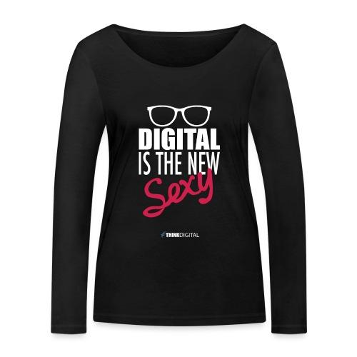 DIGITAL is the New Sexy - Lady - Maglietta a manica lunga ecologica da donna di Stanley & Stella
