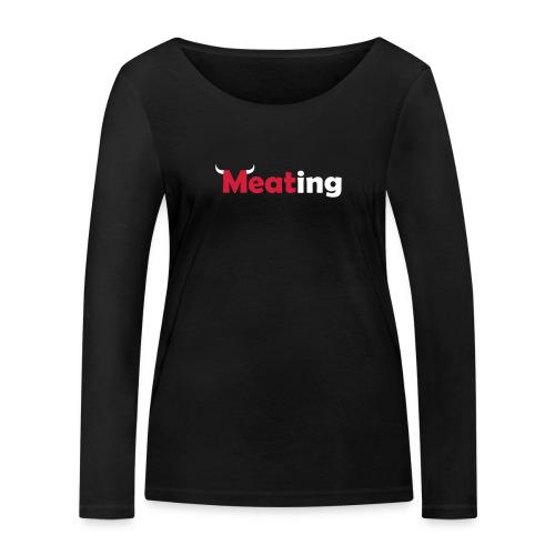 Meating Bull - Frauen Bio-Langarmshirt von Stanley & Stella
