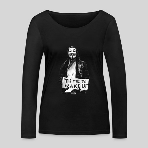 Time to wake up - T-shirt manches longues bio Stanley & Stella Femme