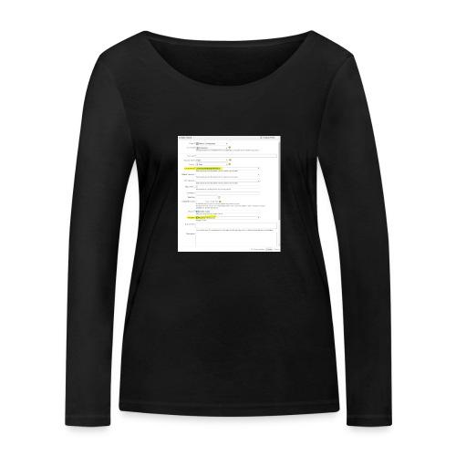 IMG_20112014_164024 - Ekologiczna koszulka damska z długim rękawem Stanley & Stella
